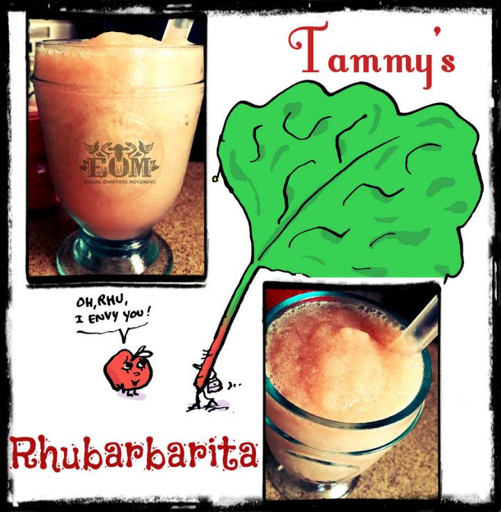 Tammy's Rhubarb web